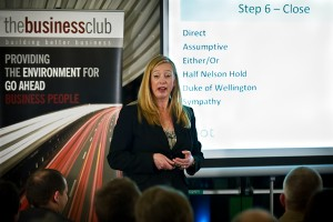 Susan Marot speaking at The Business Club Lincolnshire